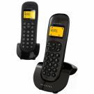 TELEFONO ALCATEL C-250 BLACK DUO DECT M. LIBRES
