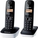 TELEFONO PANASONIC DECT KX-TG1612SP1 BLA/NGR DUO