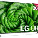 TV LG 50 50UN80006 UHD QUADC4K AITHINQ GIG