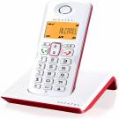 TELEFONO ALCATEL S-250 RED/WHITE DECT M. LIBRES