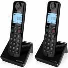 TELEFONO ALCATEL S-250 BLACK DUO DECT M. LIBRES